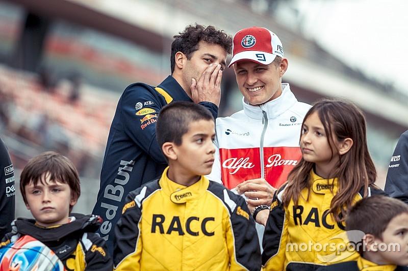 Ricciardo megtörte a Red Bull orrát az FP1-en