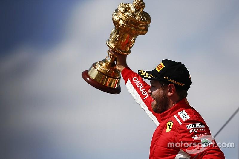British GP stats: Vettel equals Prost's 51 wins tally