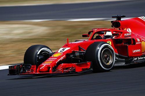 """Vettel positief: """"Een goede vrijdag, voor de verandering"""""""