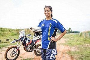 La primera mujer india que correrá la Baja Aragón lo hará con Sherco