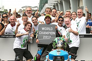 Moto2 Special feature How Morbidelli overcame tragedy to become Moto2 champion