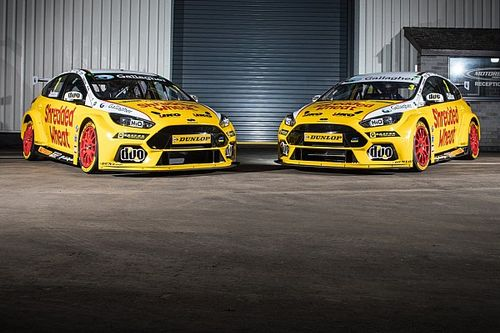 Jackson to race new Ford Focus RS for Motorbase