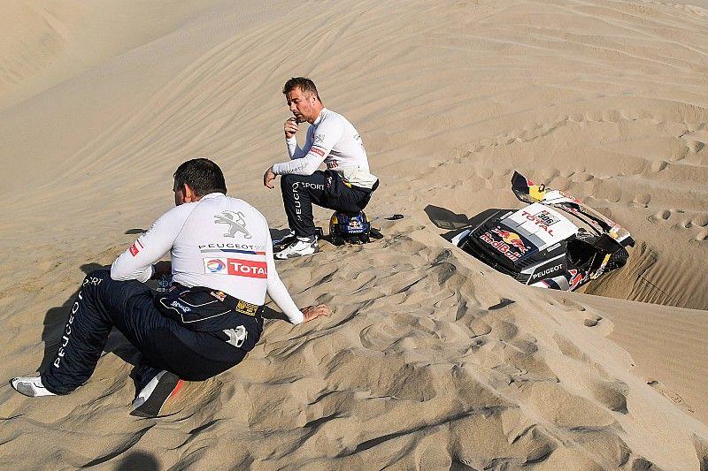 Loeb attól fél, az utolsó esélye szállt el a Dakar-ralin