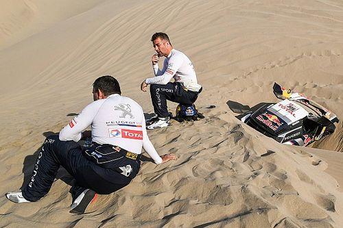 """Loeb rassegnato: """"Forse era l'ultima chance di vincere la Dakar..."""""""