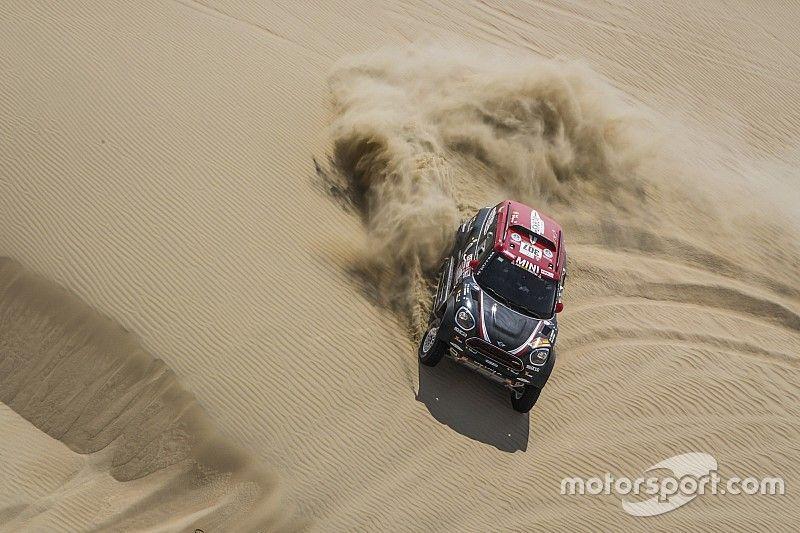 Terranova quedó atascado y perdió tiempo en la segunda etapa del Dakar