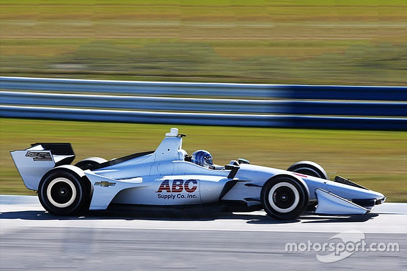 "Foyt team following ""very aggressive development program"""