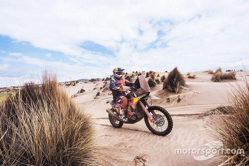 Dakar 2018: Pricekan blessureleed vergeten na dagzege, Walkner consolideert