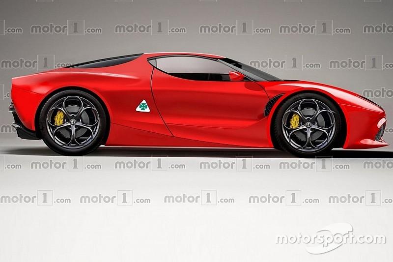 Нова Alfa Romeo 8C буде мінімум 800-сильною