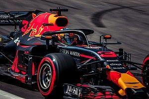 Ricciardo est parti en tête-à-queue au restart