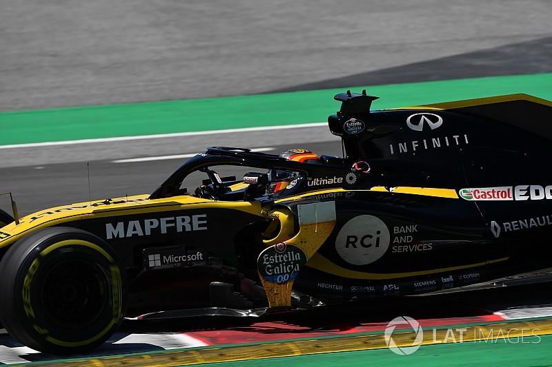 Verstappen y Sainz, al frente del test de F1 en Barcelona