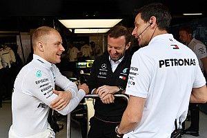 """Bottas quiere renovación de """"al menos dos años"""" con Mercedes"""