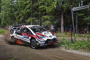 Finlandia, PS2-3: Toyota riparte forte con un grande Tanak e Latvala. Breen fora e perde terreno