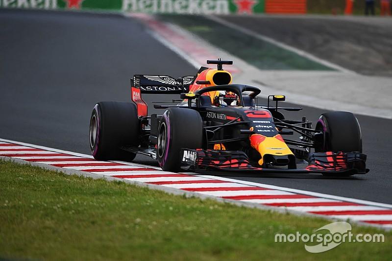 Macaristan'da günün pilotu Ricciardo!