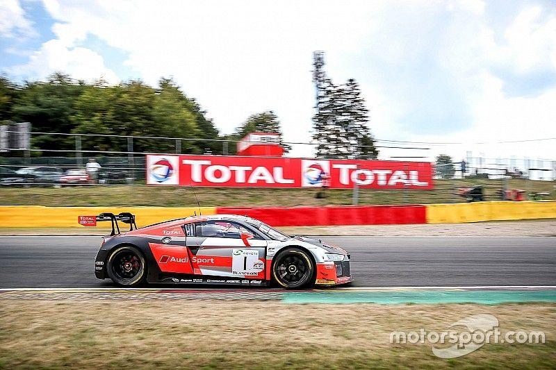 Dries Vanthoor piazza l'Audi in pole alla 24 Ore di Spa-Francorchamps