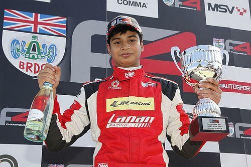 How Arjun Maini nearly won the British F4 title in 2014