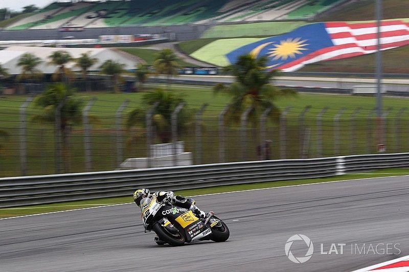 Luthi, evacuado a un hospital, seria duda para la carrera de Moto2