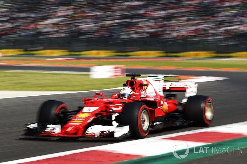 """Vettel, victime d'un problème d'extincteur: """"Ça m'a rafraîchi!"""""""