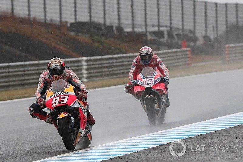 Marquez masih punya keunggulan atas Dovizioso