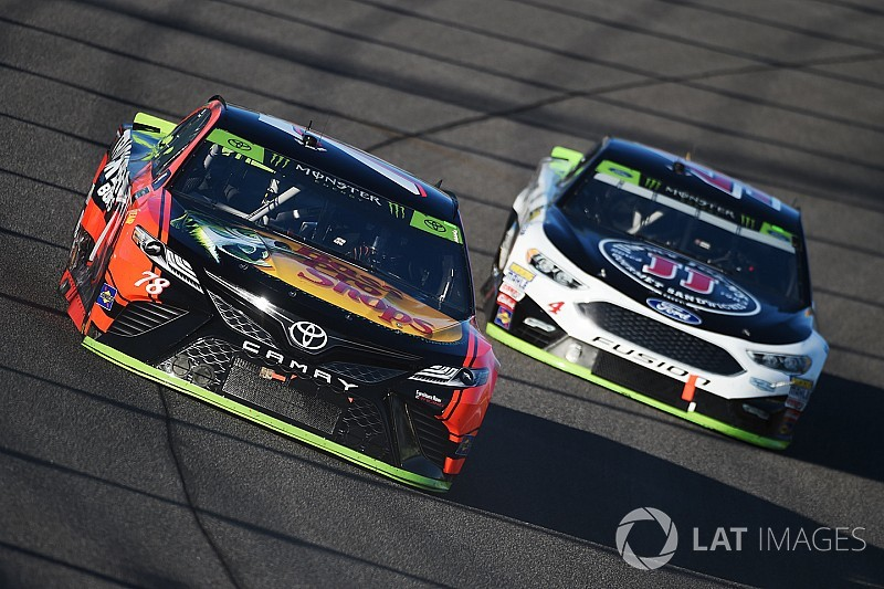 """Kevin Harvick: """"Didn't quite have what we needed at the end"""""""