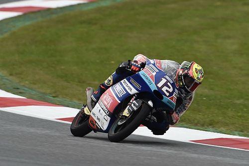 Bezzecchi gana en Austria y Martín termina de forma increíble en el podio