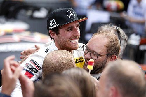 """Juncadella: """"El primer podio fue maravilloso, pero hoy es el día más grande de mi carrera"""""""