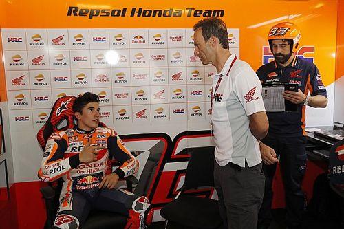 Honda resalta la estrategia de Márquez con los neumáticos