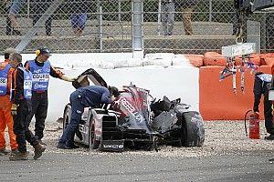 Nach Trainingscrash: Fußbruch bei Bruno Senna!