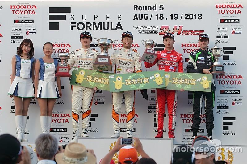 全日本F3第10戦|坪井翔、タイトル獲得に一歩近づく今季7勝目