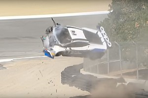 Sheena Monk habló sobre su accidente en Laguna Seca