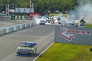 Justin Haley snags CTMP win as teammates collide at the finish