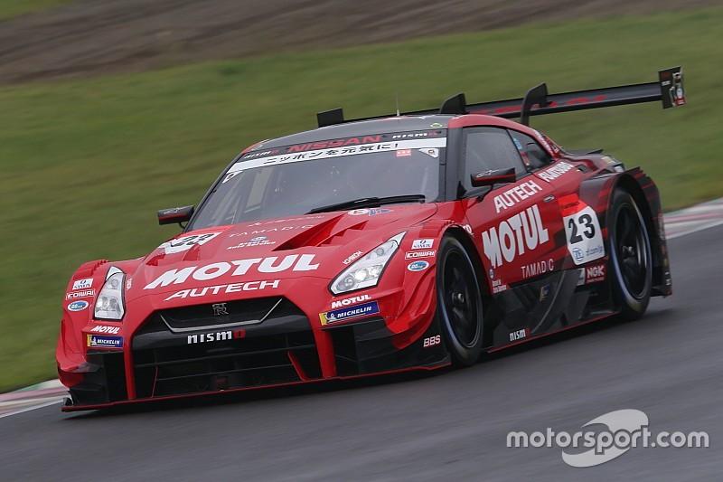 23号車ニスモは厳しい予選に。松田次生「それでも決勝が雨なら……」と期待