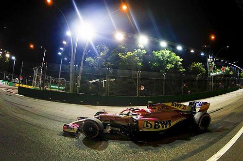 A Force India 85,000 eurós bírságot úszott meg Szingapúrban