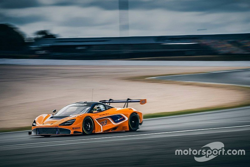 McLaren to run in IMSA GT Daytona