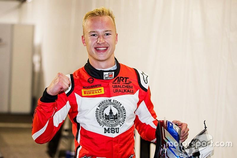 Мазепин выиграл последний в истории поул серии GP3