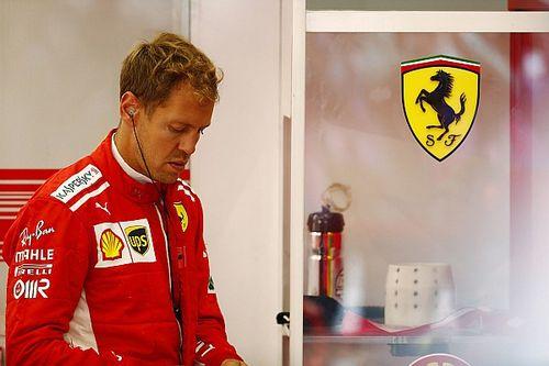 """Vettel recrimina: """"Nell'ultimo giro buono avevo la batteria scarica. Ma domani faremo bene!"""""""