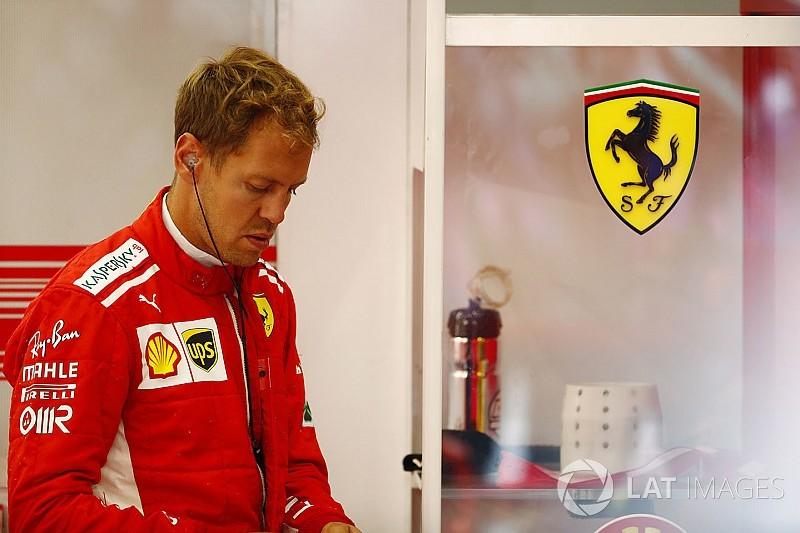 """Vettel : """"Peut-être pas aussi calme que j'aurais dû l'être"""""""