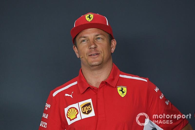 Raikkonen comenzó en Monza sus charlas con Sauber