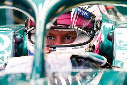 Vettel, crítico con empezar la Q3 con tanta lluvia en Bélgica