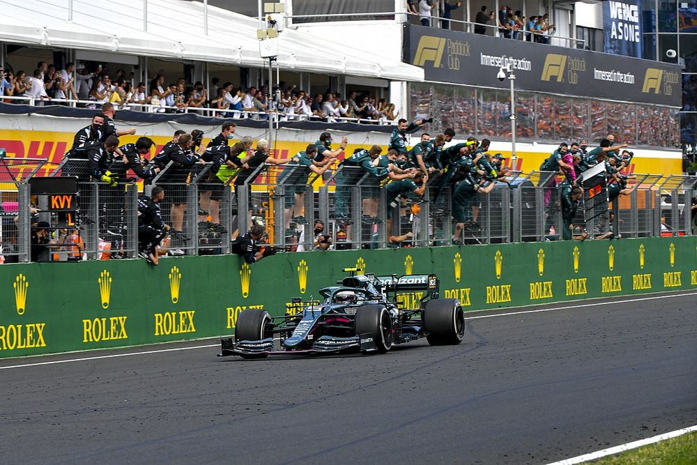 Aston Martin confirms appeal on Vettel's Hungarian GP disqualification