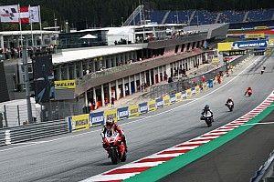 【リザルト】MotoGP第11戦オーストリアGP FP1タイム結果