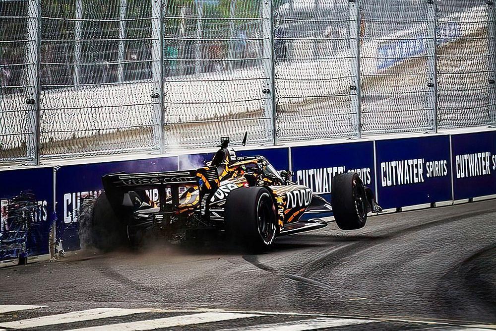 "IndyCar drivers relishing ""violent"" bumpy Nashville track"