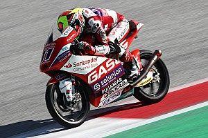 Moto3オーストリア決勝:ガルシア、今季3勝目でランク首位アコスタとの差縮める。2番手スタート鈴木は11位フィニッシュ