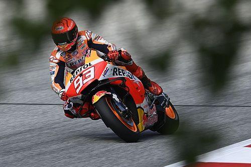 """MotoGP- Márquez: 'Se chove muito em pouco tempo fica impossível correr"""""""