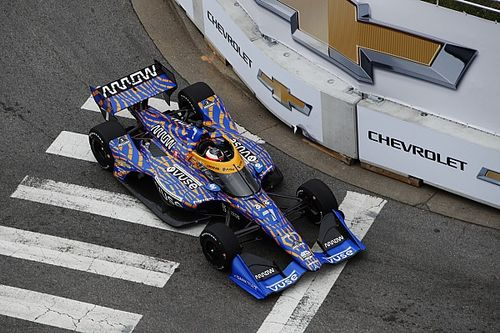 """""""The best driver will win"""" in Nashville IndyCar, says Rosenqvist"""