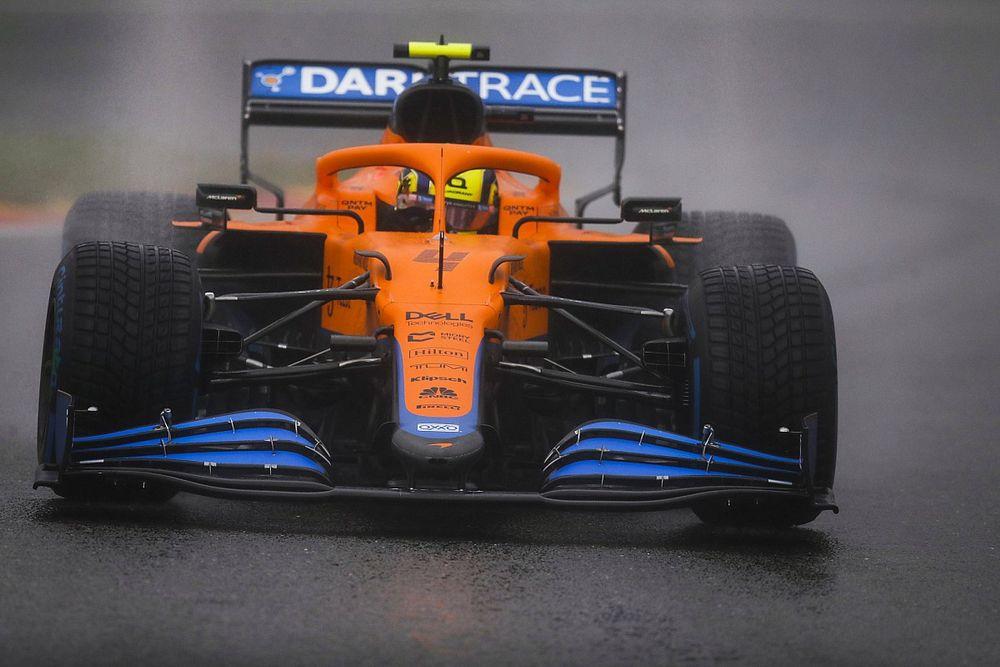ノリス、F1ベルギーGPに複雑な思い「ポイント付与はどうかと思うけど、予選のクラッシュがなければ……」