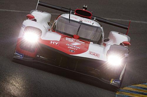 ル・マン24時間:7号車の小林可夢偉がハイパーポールで最速アタック。トヨタがフロントロウ独占