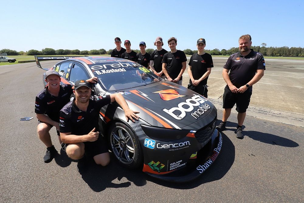 Young drivers get Erebus Supercars laps