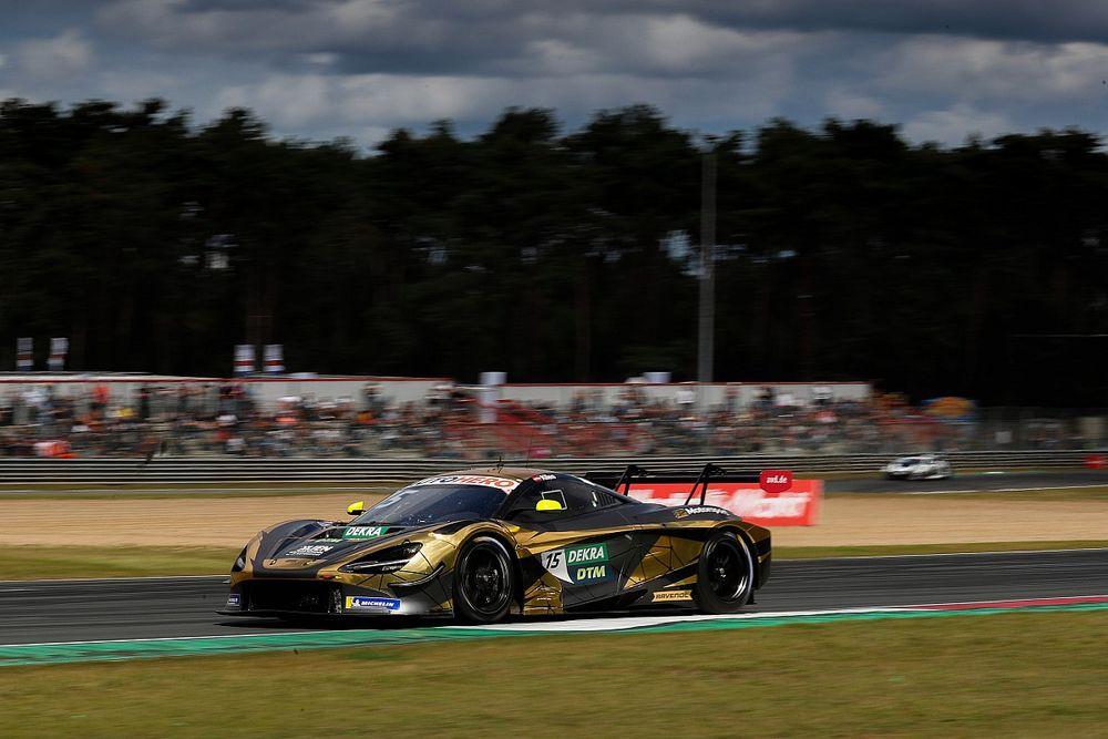 Zadowalający debiut McLarena w DTM