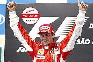 Archive: The ups and downs of Raikkonen's 2007 F1 title triumph