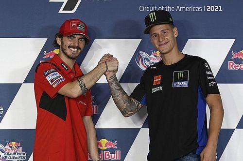 Fabio Quartararo Lebih Senang Menang di MotoGP Portugal